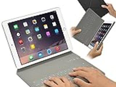 【レビュー】極薄めちゃ軽!Bookeysmart似の超薄型iPadキーボードケースをレビュー!
