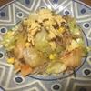 低タンパク質キムチ入り野菜春雨炒め