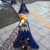 【単管バリケード】富士山