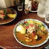《カレー@北浜》人気店『ガネーシュm』の野菜カレーは優しい味!