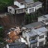 九州大雨:鹿児島・鹿屋で66ミリ 長崎で民家崩落