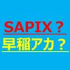 【転塾を考える】SAPIXか早稲田アカデミーか