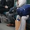 通勤電車内観察。