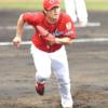 岡田明丈、紅白戦で2回2安打無失点。最速152キロ