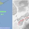 本日発生した豊後水道・茨城北部・愛知西部の地震はいずれも中央構造線付近!南海トラフへの連動もある!?