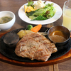 【食事】 ウエスタン牧場@水戸 芋豚ステーキセット