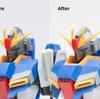 【2】HG ゼータガンダムをマスターアーカイブ版に改修する 【製作・改造】