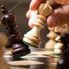 盲目のチェスチャンピョン。