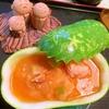 冬瓜と鶏手羽トロ肉の韓国風スープ