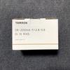 TAMRON 28-200mm F/2.8-5.6 Di III RXD 着