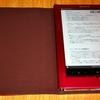 Sony Readerで日本語EPUB文書を表示してみました