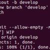 GitHub で空のプルリクエストを作ってみる