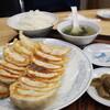 ●与野「ぎょうざの満州」でダブル餃子定食