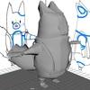 maya:Udemyの簡単&かわいい3Dモデリングを受講3