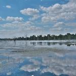 「ニャック・ポアン(Neak Pean)」~鏡張り湖の向こうの、聖なる池に浮かぶ祠堂!!