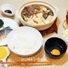 【おうちごはん】土鍋ですき焼き&お気に入りの炙りしめ鯖/Sukiyaki /น้ำซุปสุกี้ยากี้สไตล์ญี่ปุ่นกับปลาซาบะดองเผาไฟ