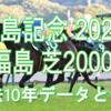 【福島記念 2020】過去10年データと予想
