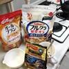 凍り豆腐と餅