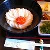 【今週のうどん15】 店仕込み 饂飩馳走 春菜 (大阪・上本町) 玉子生醤油うどん