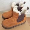 【無印良品】今年も子どもの冬靴は無印のサイドゴアブーツに決まり。