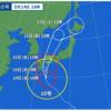 明日の出発どうなる? 台風10号の行方次第?