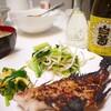 日常:白菊の普通酒を飲みながら赤魚の粕漬けを食べていたら…&