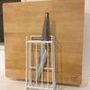 【キッチン】包丁とまな板の置き場が同時解決