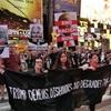 トランプ氏    「国連で演説、恥ずかしい」…NYで抗議デモ