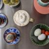 6/25(木)塩ゆで卵、魯肉飯、ガンジーのカレー