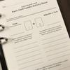 タロット・オラクルカード用日記PDFを作りました