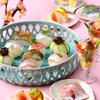 焼きさば鮨と桜色の小鯛ささ漬で春をお出迎え♪