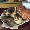 萩の茶屋で長太郎と肉(高知県・土佐市)