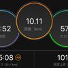 ジョギング10.11km・恐怖に打ち震えるいびがわ前々夜