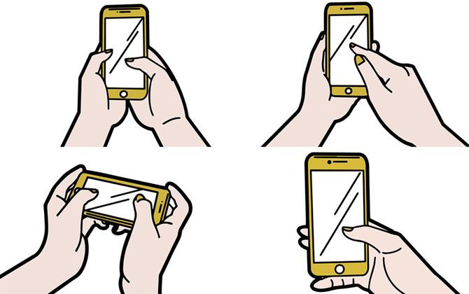 その持ち方、手指に危険かも……。スマホの正しい持ち方やNG例、解消マッサージ方法を医師が解説
