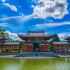 京都・宇治の世界遺産、平等院鳳凰堂へ。