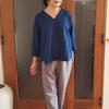 キレイ目なフレンチリネンシャツはオールシーズン着られる10年服