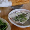 台南  阿憨鹹粥でサバヒー粥を食べました