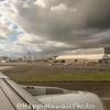 もうこのハワイの旅も最後です。。空港ではラウンジでのんびりしてました。