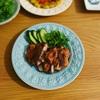 タイ料理の晩ごはん/焼鳥ガイヤーンのレシピなど/骨董市でゲットした器の話