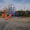 北加瀬熊野台公園(再開発がすすむ「コトニアガデーン新川崎」そばの遊具のある公園)