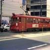 汚すぎる、オヤジカメラ汚写真 おそらく1975年頃の新岐阜駅前