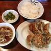 タレコミ情報【自由が丘】「寿福」の平日ランチ限定餃子定食は餃子8個入り