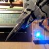 自作したロボットアームを制御する(現実認識を行う)(その4)レーザーで距離を認識する