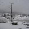 吹雪にはなりませんでしたが、除雪ブルドーザーは出動です(yahoo編集版)