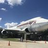 本物のボーイング747を改装して作られた『747カフェ』で搭乗気分を味わえる♪