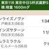 武蔵野S 指数的軸馬 ノヴァ様 勝利!!の巻