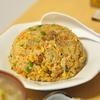 玄米の野菜たっぷり焼き飯と具沢山の酸辣湯  @家ごはん