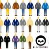 シンプルな服装(ジャケパン)は色合わせ・色使いが基本
