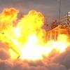 北の大地で壮大なロケット花火!