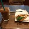 モリバコーヒーでモーニング。